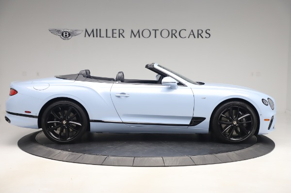 New 2020 Bentley Continental GTC V8 for sale $280,475 at Maserati of Greenwich in Greenwich CT 06830 9