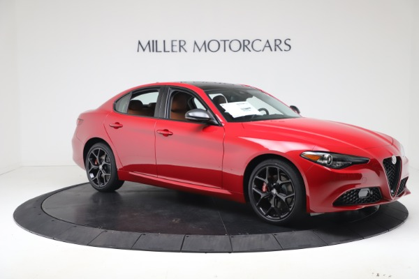 New 2020 Alfa Romeo Giulia Q4 for sale $47,245 at Maserati of Greenwich in Greenwich CT 06830 10