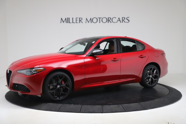 New 2020 Alfa Romeo Giulia Q4 for sale $47,245 at Maserati of Greenwich in Greenwich CT 06830 2