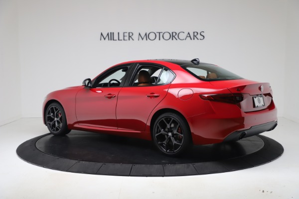 New 2020 Alfa Romeo Giulia Q4 for sale $47,245 at Maserati of Greenwich in Greenwich CT 06830 4