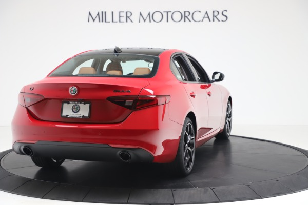 New 2020 Alfa Romeo Giulia Q4 for sale $47,245 at Maserati of Greenwich in Greenwich CT 06830 7