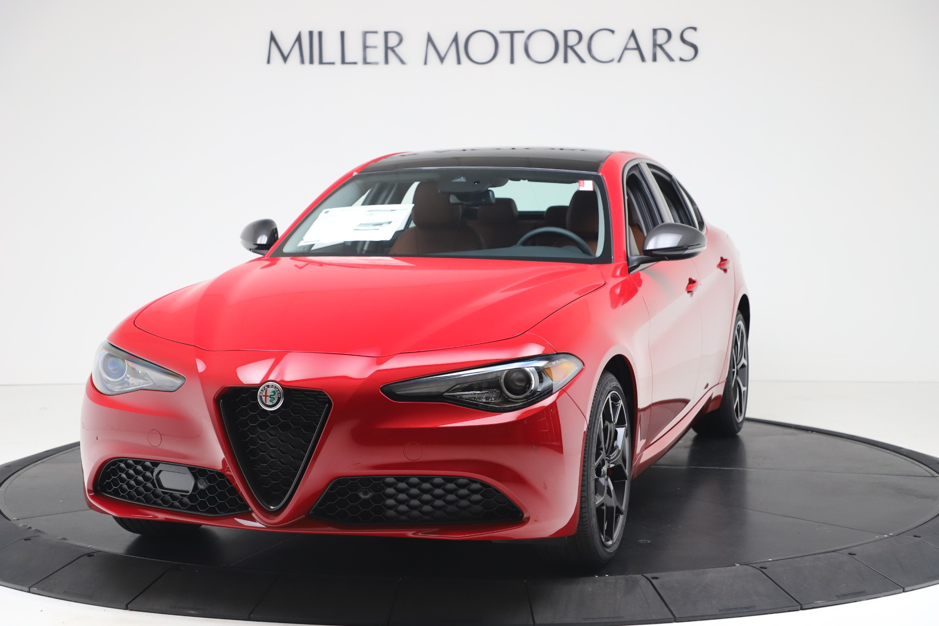 New 2020 Alfa Romeo Giulia Q4 for sale $47,245 at Maserati of Greenwich in Greenwich CT 06830 1