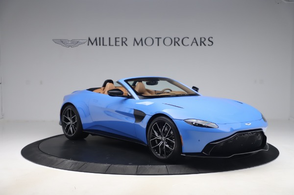 New 2021 Aston Martin Vantage Roadster for sale Call for price at Maserati of Greenwich in Greenwich CT 06830 10