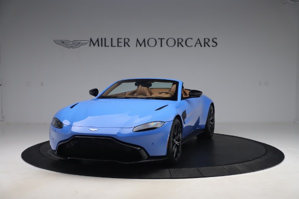 New 2021 Aston Martin Vantage Roadster for sale Call for price at Maserati of Greenwich in Greenwich CT 06830 12