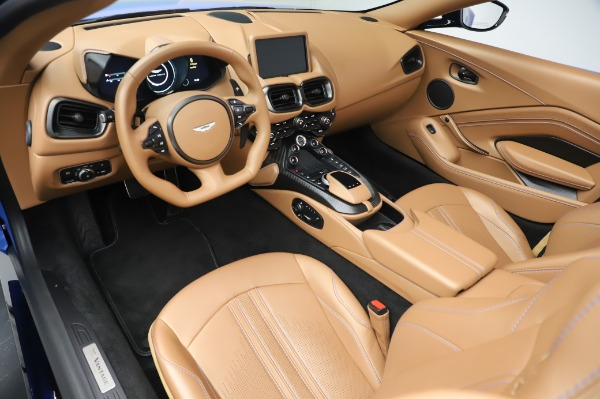 New 2021 Aston Martin Vantage Roadster for sale Call for price at Maserati of Greenwich in Greenwich CT 06830 13