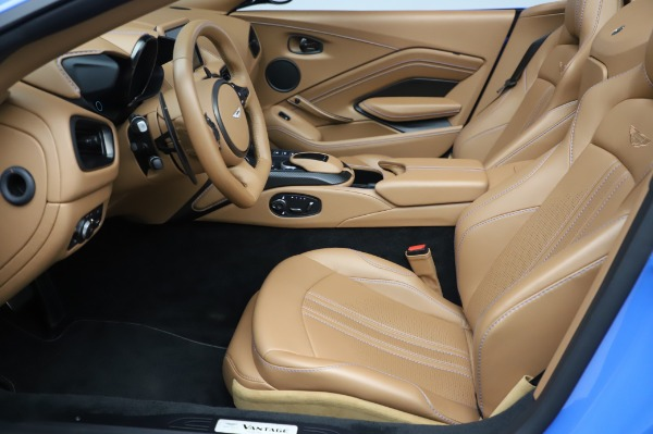 New 2021 Aston Martin Vantage Roadster for sale Call for price at Maserati of Greenwich in Greenwich CT 06830 14