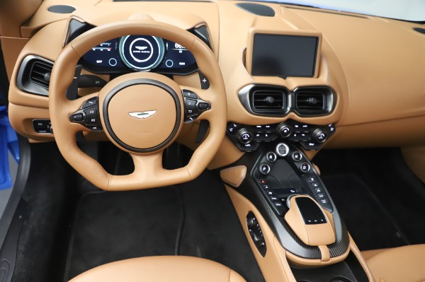 New 2021 Aston Martin Vantage Roadster for sale Call for price at Maserati of Greenwich in Greenwich CT 06830 17