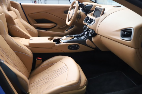 New 2021 Aston Martin Vantage Roadster for sale Call for price at Maserati of Greenwich in Greenwich CT 06830 19