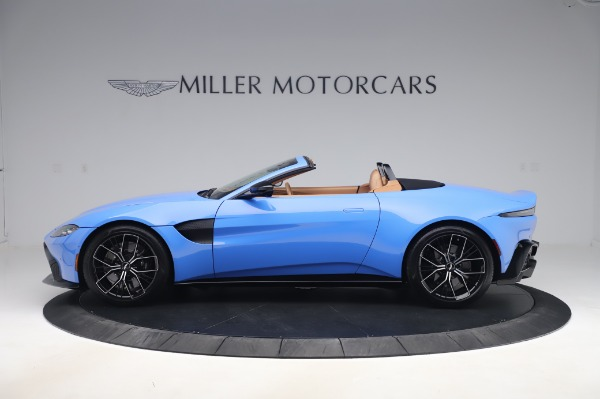 New 2021 Aston Martin Vantage Roadster for sale Call for price at Maserati of Greenwich in Greenwich CT 06830 2