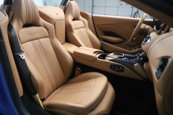 New 2021 Aston Martin Vantage Roadster for sale Call for price at Maserati of Greenwich in Greenwich CT 06830 20