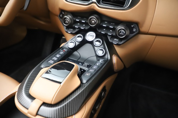 New 2021 Aston Martin Vantage Roadster for sale Call for price at Maserati of Greenwich in Greenwich CT 06830 22