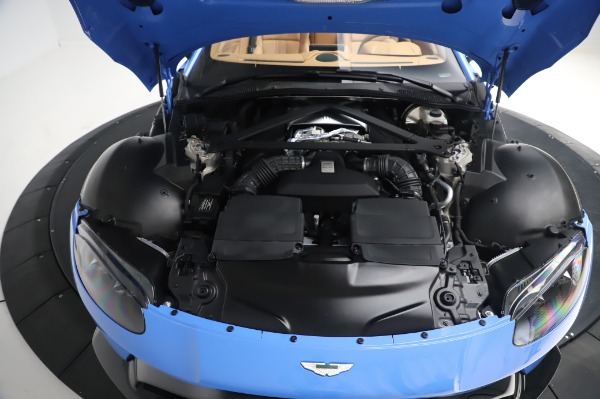 New 2021 Aston Martin Vantage Roadster for sale Call for price at Maserati of Greenwich in Greenwich CT 06830 23
