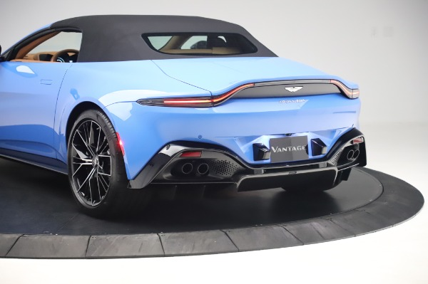 New 2021 Aston Martin Vantage Roadster for sale Call for price at Maserati of Greenwich in Greenwich CT 06830 25