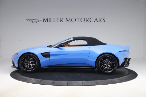 New 2021 Aston Martin Vantage Roadster for sale Call for price at Maserati of Greenwich in Greenwich CT 06830 27
