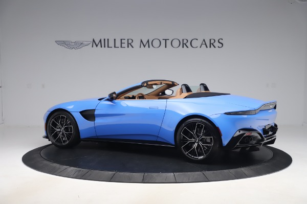 New 2021 Aston Martin Vantage Roadster for sale Call for price at Maserati of Greenwich in Greenwich CT 06830 3