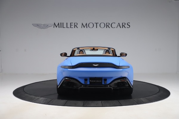 New 2021 Aston Martin Vantage Roadster for sale Call for price at Maserati of Greenwich in Greenwich CT 06830 5