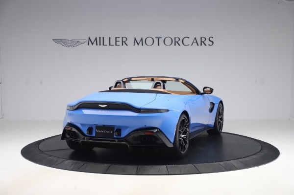 New 2021 Aston Martin Vantage Roadster for sale Call for price at Maserati of Greenwich in Greenwich CT 06830 6
