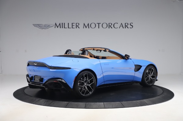 New 2021 Aston Martin Vantage Roadster for sale Call for price at Maserati of Greenwich in Greenwich CT 06830 7