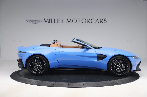 New 2021 Aston Martin Vantage Roadster for sale Call for price at Maserati of Greenwich in Greenwich CT 06830 8