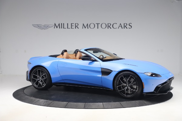 New 2021 Aston Martin Vantage Roadster for sale Call for price at Maserati of Greenwich in Greenwich CT 06830 9