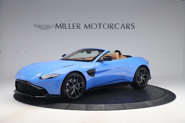 New 2021 Aston Martin Vantage Roadster for sale Call for price at Maserati of Greenwich in Greenwich CT 06830 1