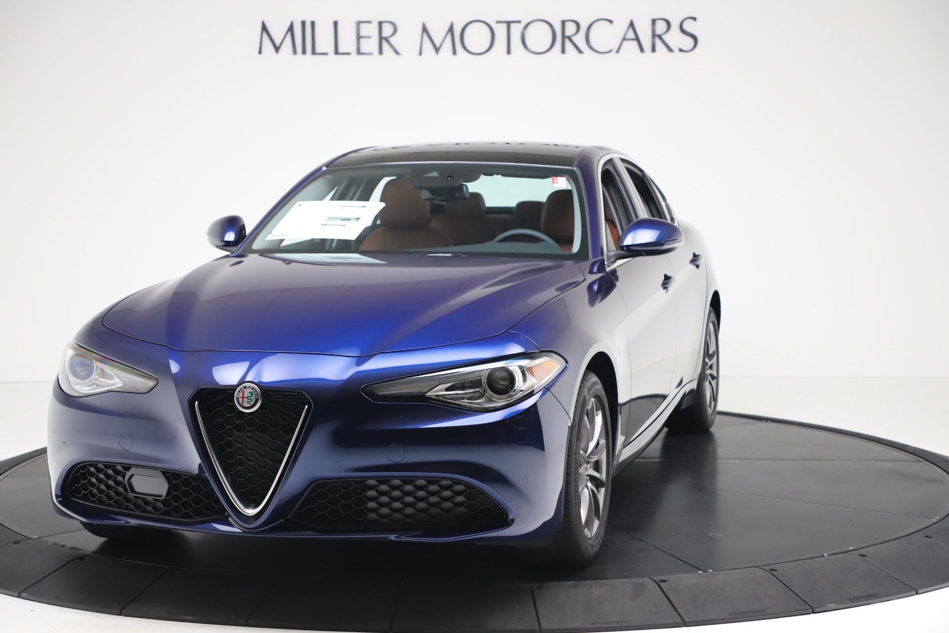 New 2020 Alfa Romeo Giulia Q4 for sale Sold at Maserati of Greenwich in Greenwich CT 06830 1