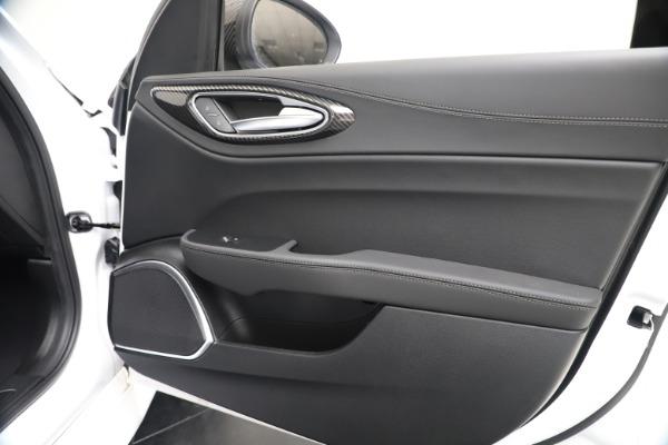 New 2020 Alfa Romeo Giulia Ti Sport Carbon Q4 for sale $51,640 at Maserati of Greenwich in Greenwich CT 06830 24