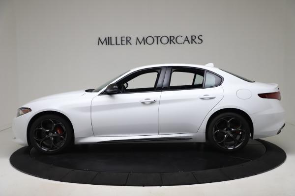 New 2020 Alfa Romeo Giulia Ti Sport Carbon Q4 for sale $51,640 at Maserati of Greenwich in Greenwich CT 06830 3