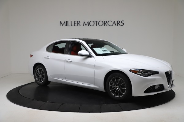 New 2020 Alfa Romeo Giulia Q4 for sale $44,845 at Maserati of Greenwich in Greenwich CT 06830 10