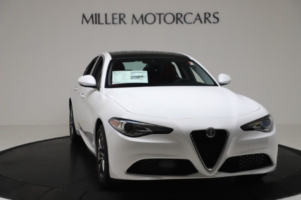 New 2020 Alfa Romeo Giulia Q4 for sale $44,845 at Maserati of Greenwich in Greenwich CT 06830 11