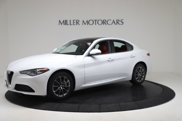 New 2020 Alfa Romeo Giulia Q4 for sale $44,845 at Maserati of Greenwich in Greenwich CT 06830 2