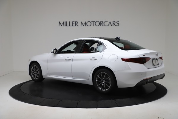New 2020 Alfa Romeo Giulia Q4 for sale $44,845 at Maserati of Greenwich in Greenwich CT 06830 4