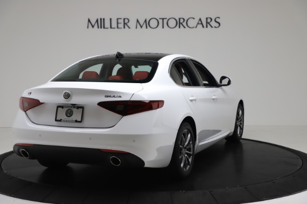 New 2020 Alfa Romeo Giulia Q4 for sale $44,845 at Maserati of Greenwich in Greenwich CT 06830 7