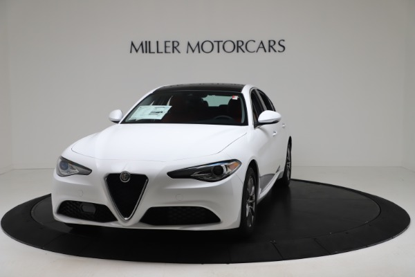 New 2020 Alfa Romeo Giulia Q4 for sale $44,845 at Maserati of Greenwich in Greenwich CT 06830 1
