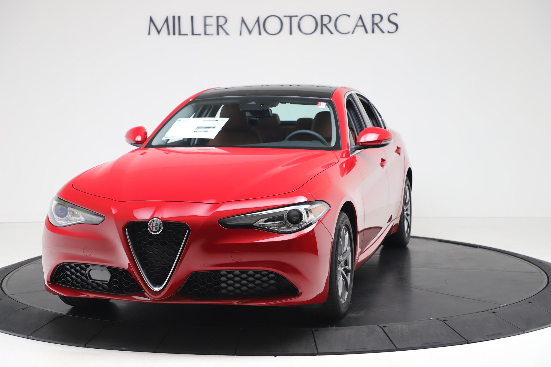 New 2020 Alfa Romeo Giulia Q4 for sale $40,466 at Maserati of Greenwich in Greenwich CT 06830 1