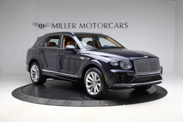 New 2021 Bentley Bentayga V8 for sale $203,205 at Maserati of Greenwich in Greenwich CT 06830 11