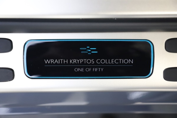 New 2021 Rolls-Royce Wraith KRYPTOS for sale $450,550 at Maserati of Greenwich in Greenwich CT 06830 26