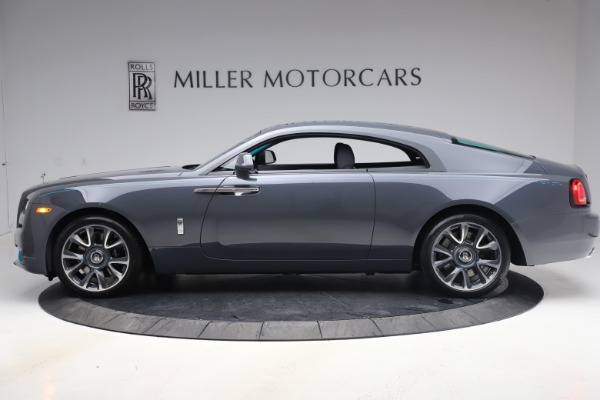 New 2021 Rolls-Royce Wraith KRYPTOS for sale $450,550 at Maserati of Greenwich in Greenwich CT 06830 4