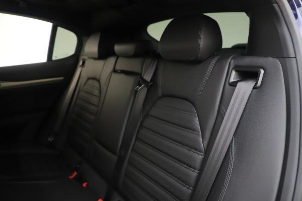 New 2020 Alfa Romeo Stelvio Ti Sport Q4 for sale Sold at Maserati of Greenwich in Greenwich CT 06830 18
