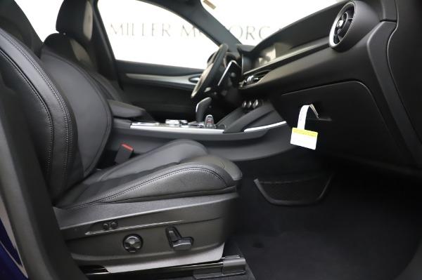 New 2020 Alfa Romeo Stelvio Ti Sport Q4 for sale Sold at Maserati of Greenwich in Greenwich CT 06830 23