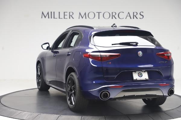 New 2020 Alfa Romeo Stelvio Ti Sport Q4 for sale Sold at Maserati of Greenwich in Greenwich CT 06830 5