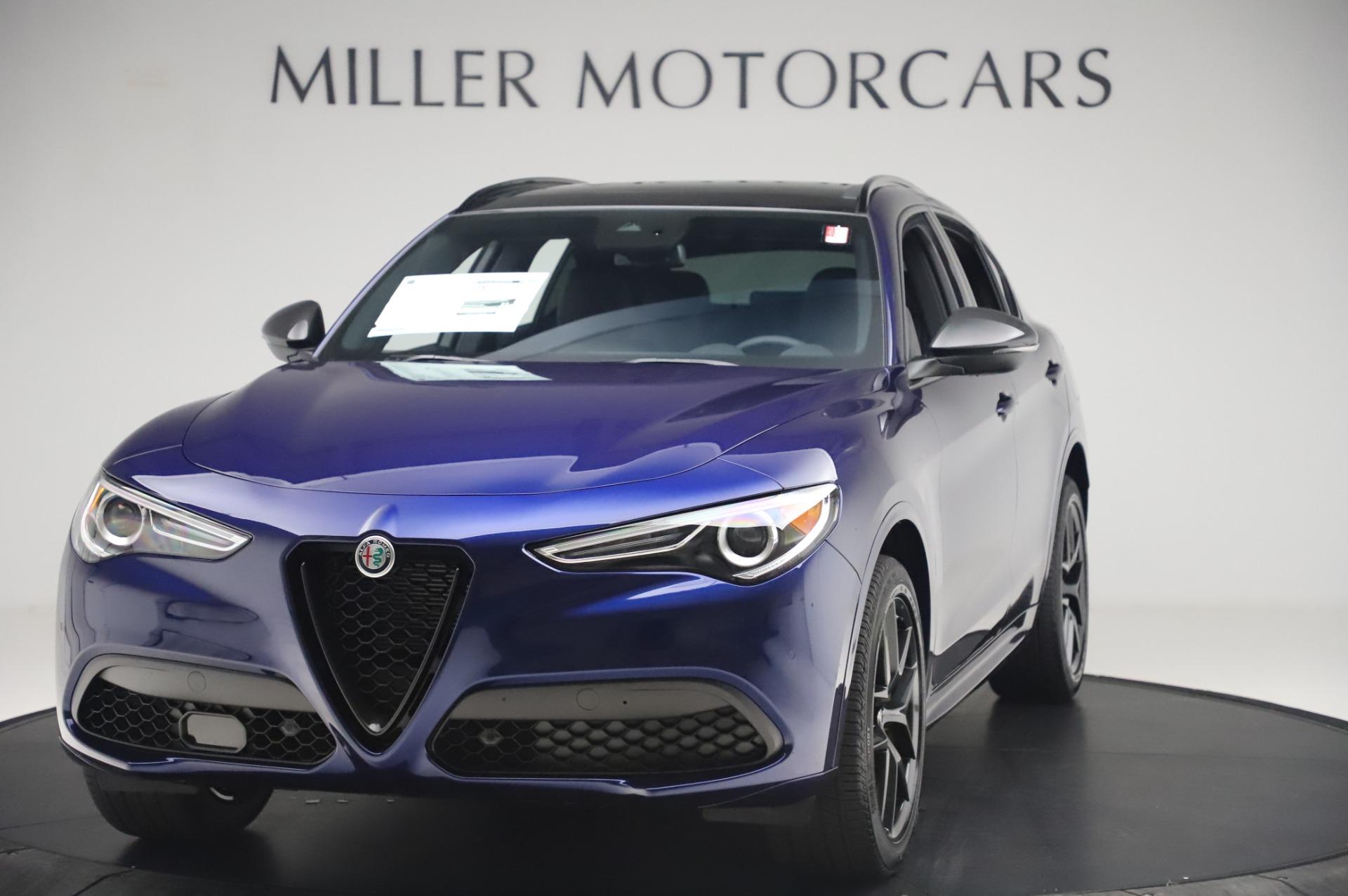 New 2020 Alfa Romeo Stelvio Ti Sport Q4 for sale Sold at Maserati of Greenwich in Greenwich CT 06830 1