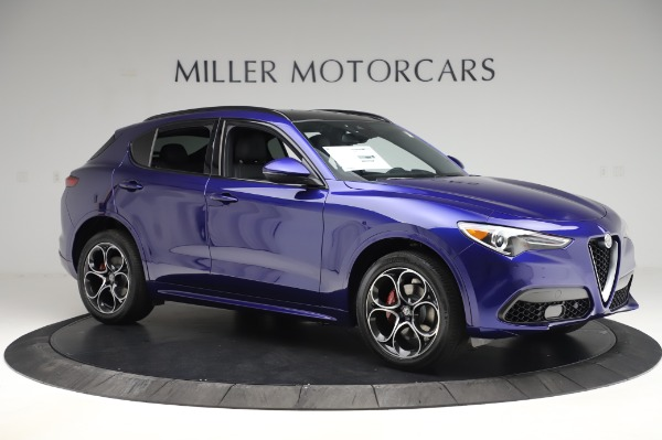 New 2020 Alfa Romeo Stelvio Ti Sport Q4 for sale $57,045 at Maserati of Greenwich in Greenwich CT 06830 10