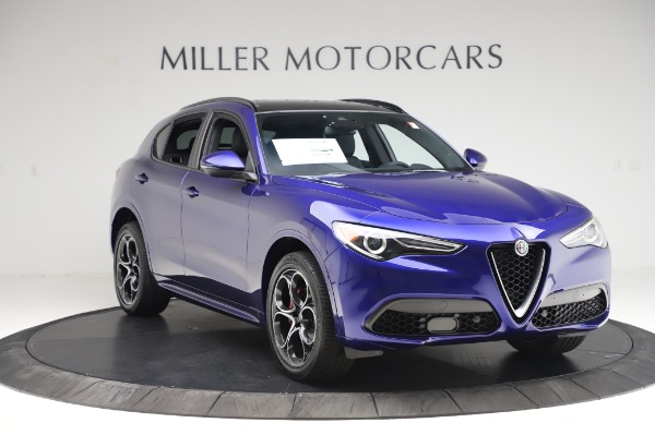 New 2020 Alfa Romeo Stelvio Ti Sport Q4 for sale $57,045 at Maserati of Greenwich in Greenwich CT 06830 11