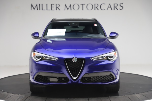 New 2020 Alfa Romeo Stelvio Ti Sport Q4 for sale $57,045 at Maserati of Greenwich in Greenwich CT 06830 12