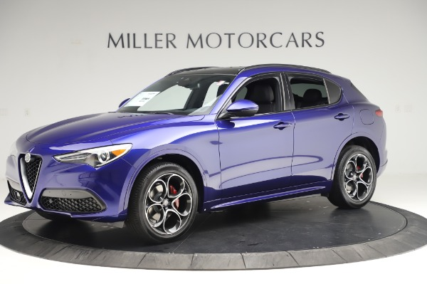New 2020 Alfa Romeo Stelvio Ti Sport Q4 for sale $57,045 at Maserati of Greenwich in Greenwich CT 06830 2