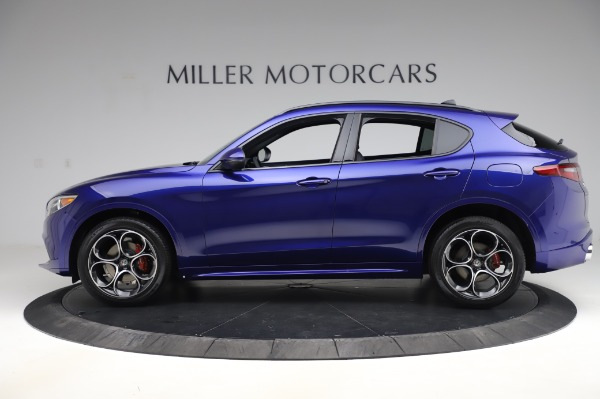 New 2020 Alfa Romeo Stelvio Ti Sport Q4 for sale $57,045 at Maserati of Greenwich in Greenwich CT 06830 3