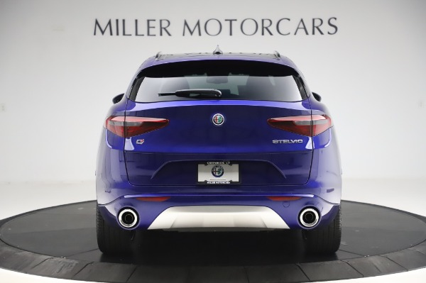 New 2020 Alfa Romeo Stelvio Ti Sport Q4 for sale $57,045 at Maserati of Greenwich in Greenwich CT 06830 6