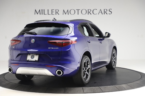 New 2020 Alfa Romeo Stelvio Ti Sport Q4 for sale $57,045 at Maserati of Greenwich in Greenwich CT 06830 7