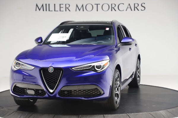 New 2020 Alfa Romeo Stelvio Ti Sport Q4 for sale $57,045 at Maserati of Greenwich in Greenwich CT 06830 1